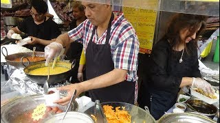 Bombay Street Food: Pani Puri, Aloo Chana Papri Chaat, Indian Wraps, Gulub Jamun and Jalebi, London.