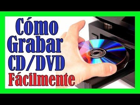 COMO DESCARGAR PROGRAMA PARA GRABAR CD DVD Quemar Un CD Clonar Discos Gratis Facilmente