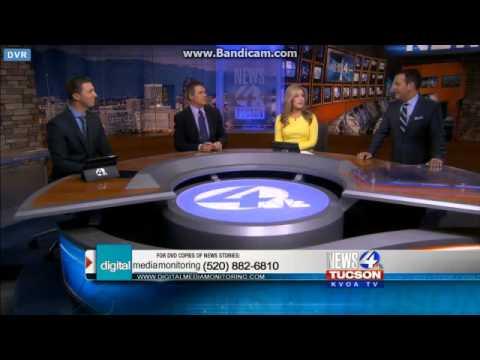 Kvoa News 4 Tucson Live At 10pm Weekend Close 11 29 15 Youtube