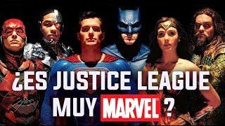 ¿Es JUSTICE LEAGUE una película muy MARVEL? I Crítica con Spoilers