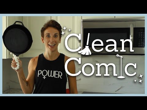 CLEAN COMIC: Cast Iron Skillet