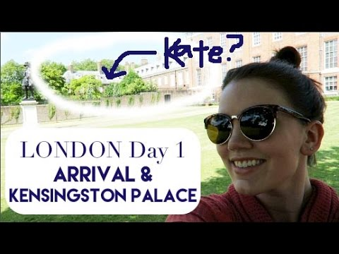 London Day 1 & 2 | Arrival and Kensington Palace