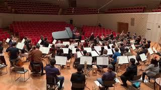 ラフマニノフ : パガニーニの主題による狂詩曲 より第18変奏曲 『佐渡裕 × 反田恭平 』with Japan National Orchestra (Tour Rehearsal)