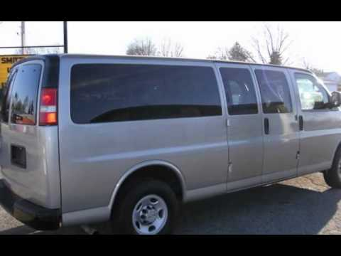 2009 Chevrolet Express LS 3500 15-PASSENGER for sale in Angola, IN