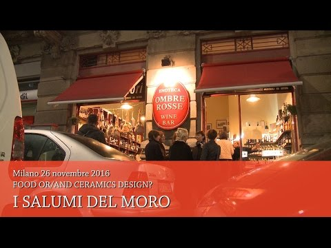 Franco Morini Detto il Moro - Food or/and ceramic design? Milano 2016