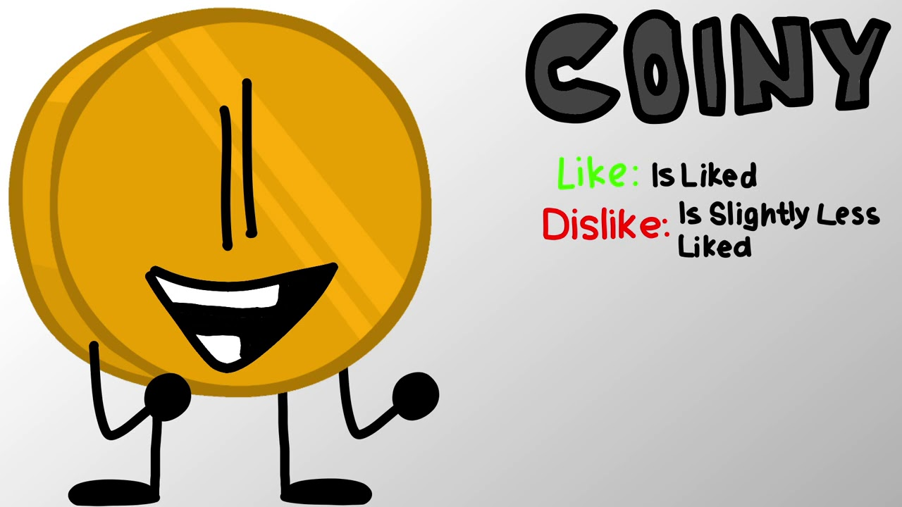 Vote for Coiny (BFDIA 1 Re-Animated) - ‎