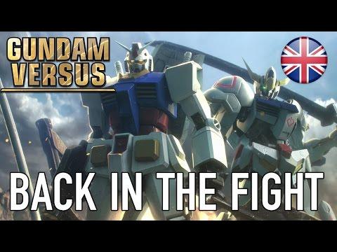Gundam Versus - PS4 - Back in the fight (Announcement Trailer)