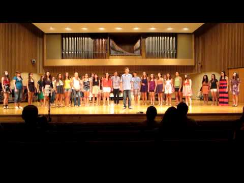 Ithaca Summer Music Academy 2012 - Hallelujah
