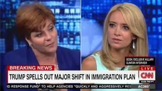 Entire CNN Panel Scoffs When Kayleigh McEnany Argues Trump Flip-Flop Is Not a Flip-Flop