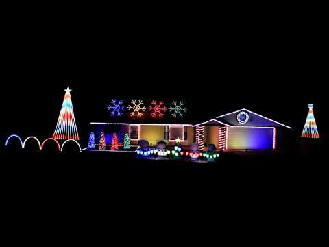 Thunder by Imagine Dragons 2017 Christmas Light Show Display