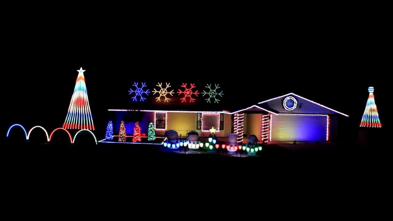 Thunder By Imagine Dragons 2017 Christmas Light Show Display