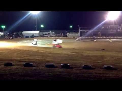Fierce Racing, 6/28/14, Texoma Motor Speedway, Jr. 2 Feature: #57 Landon Zakalowski - 2nd place