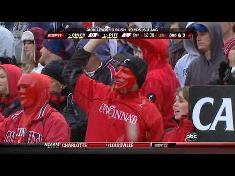 2009 #5 Cincinnati vs. #14 Pittsburgh (HD)