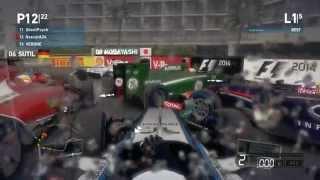 F1 2014 PC Online Monaco Shenanigans