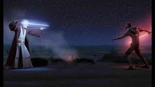 『スター・ウォーズ 反乱者たち シーズン3』オビ=ワン・ケノービとダース・モールの対決シ