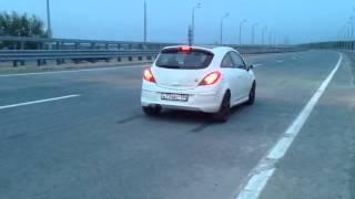 Opel corsa GSI стреляет