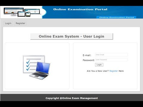 Online exam management system in PHP, MySQL with Source Code - YouTube