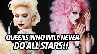 QUEENS WHO WILL NEVER DO ALL STARS