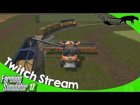Twitch Livestream: Farming Simulator 17 PC Open Server PLEASANT VALLEY 17 05/19/2017