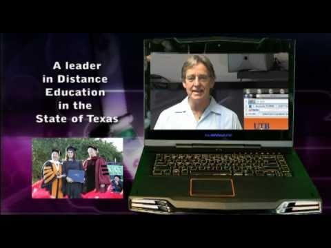 Online Educational Technology Program at UT-Brownsville