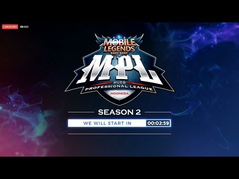 LIVE MPL Season 2| 8 Juli 2018 | Mobile Legends Bang Bang Indonesia