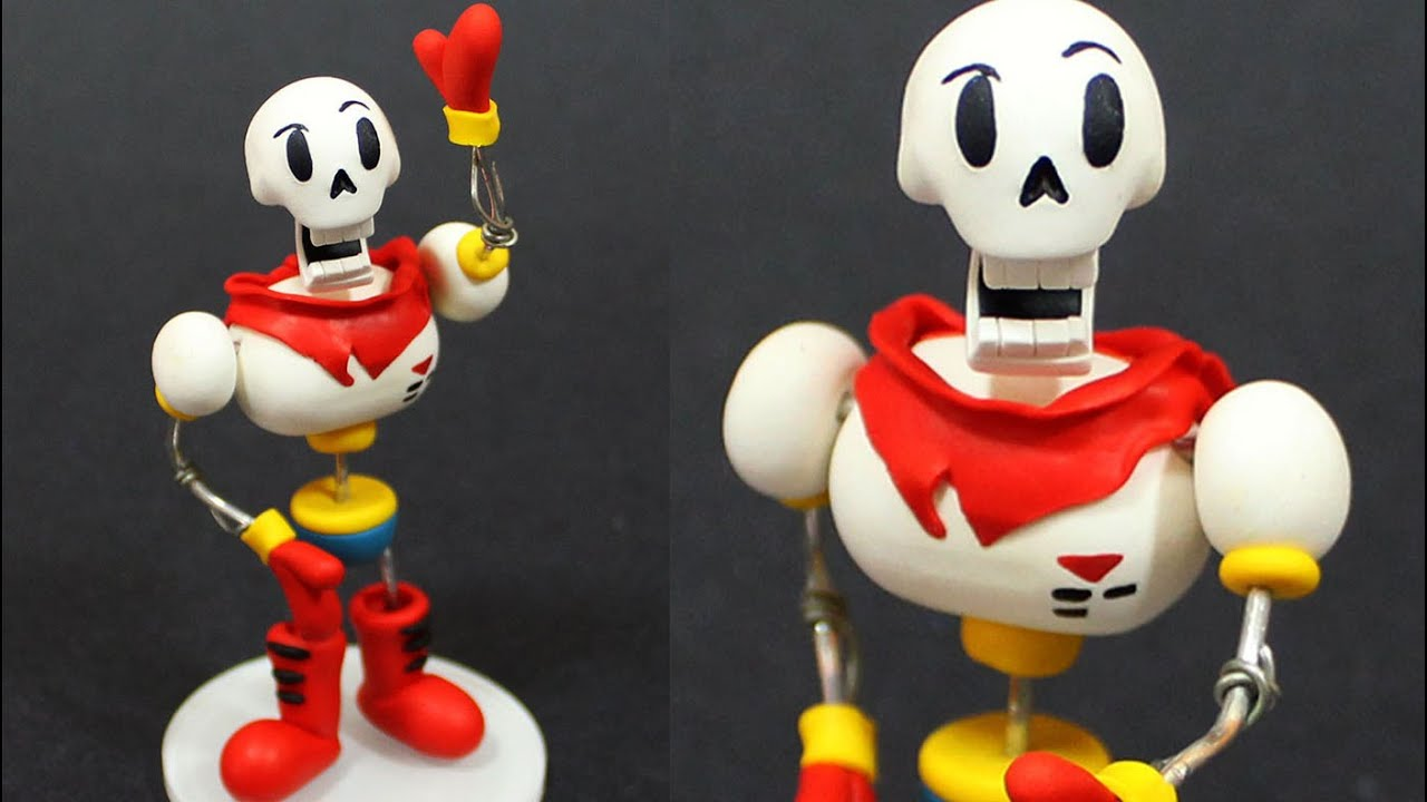 how to make action figures with clay
