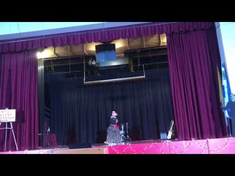 Bollywood performance at school talent show