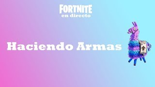 Making Weapons! Giving Cicuta 106 Fortnite: Saving the World
