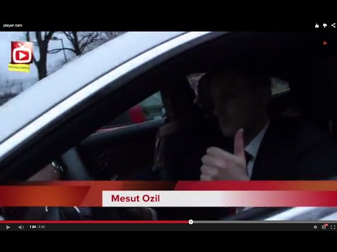 Mesut Ozil, Coquelin, Gnabry, Rosicky, Akpom & Ox Leaving The Emirates