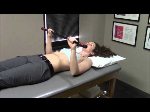 PHASE 1 RANGE OF MOTION: 13 SUPINE FORWARD FLEXION