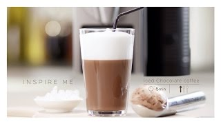 Nespresso Recipe | Iced chocolate coffee