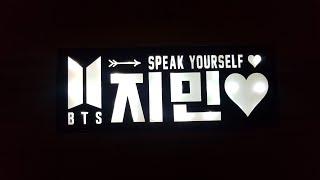 BTS led조명 굿즈 goods 연예인 피켓 플랜카드…