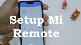 Redmi 6 Pro: How to Setup Mi Remote to control TV, AC, Music Player [Hindi]