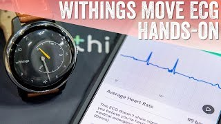First Look: Withings Move ECG // $129 ECG Activity Tracker