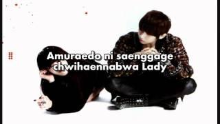[KARAOKE] JS & Hyuna - Troublemaker