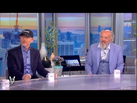 Ron Howard and Clint Howard Talk Brotherhood and Growing Up in Hollywood in Memoir  The View