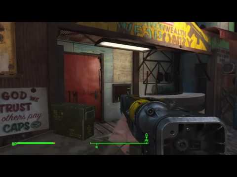Fallout 4 Tips & Tricks GET FREE FOOD AND AID FROM DIAMOND CITY