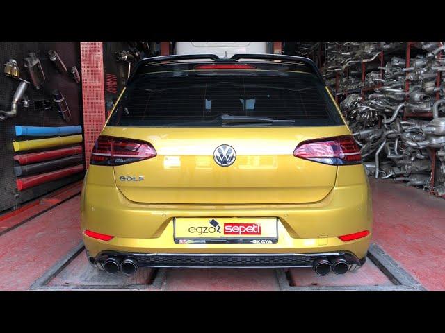 VW GOLF 7 1.4 KUMANDALI VAREX EGZOZ SESİ