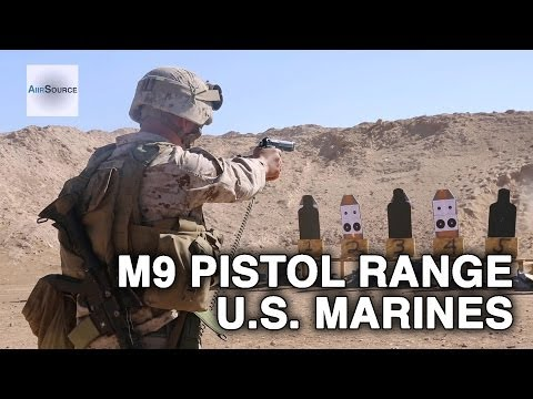 U.S. Marines - Headquarters and Support Company Pistol Range