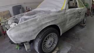 1989 BMW M3 RESTORATION AND COMPLETE PPG PAINT JOB.