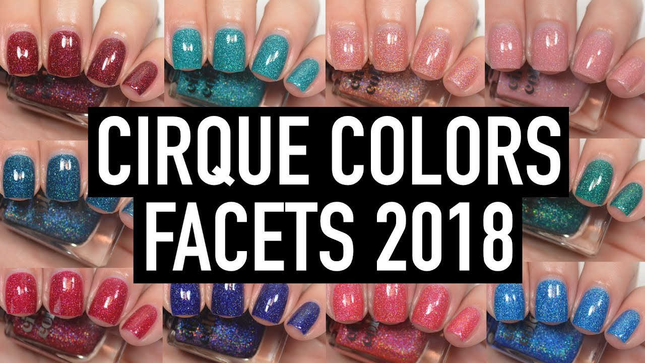 Salon Perfect Cirque Facets Collection Halloween 2020 Cirque Colors   Facets 2018 | Swatch and Review   YouTube