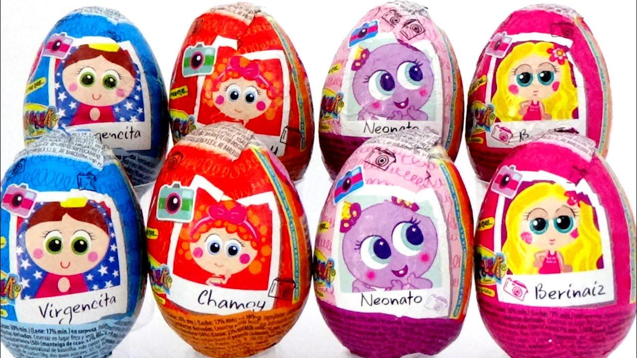 Huevos Sorpresa KSI Meritos, Chamoy y Amiguis 🐣 DISTROLLER en Español