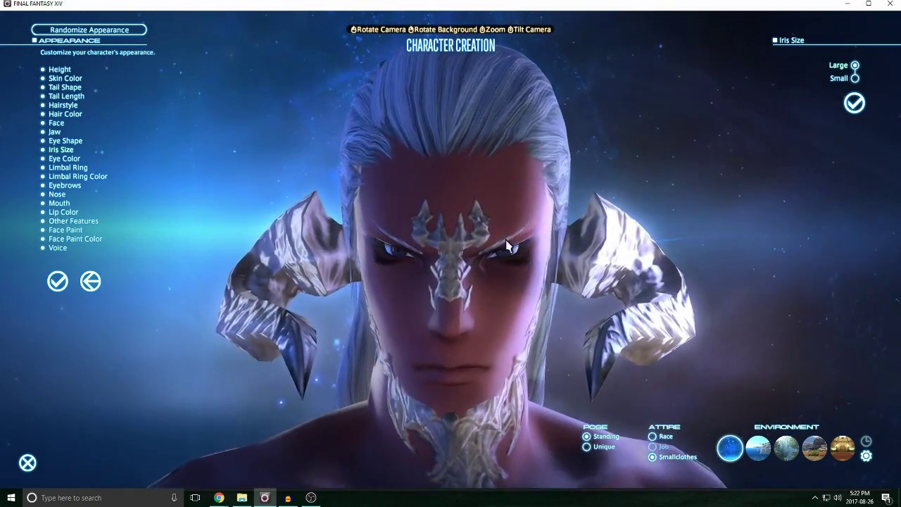 FFXIV - Online | Character Creation - Au Ra (M)