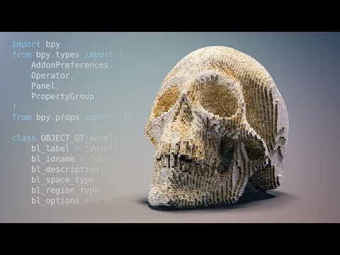 Turning A Blender 2.8 Python Script Into An Addon - Beginner Tutorial