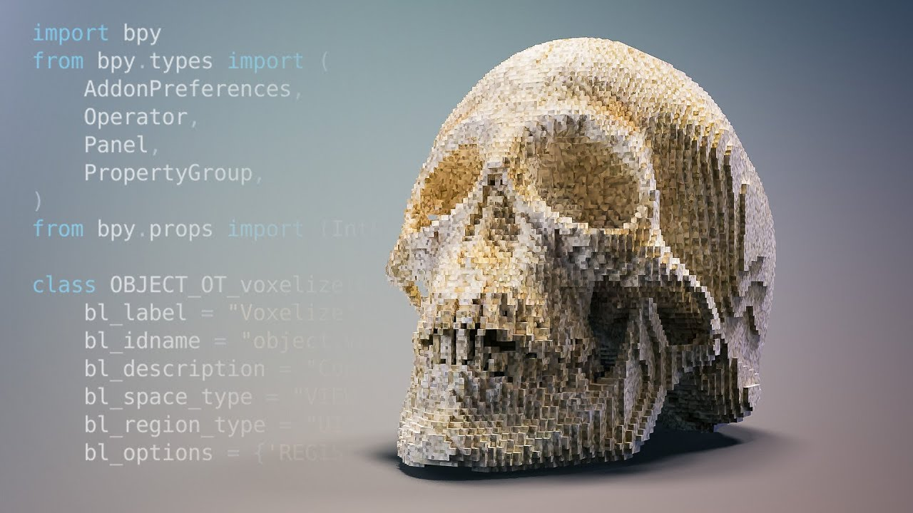 Turning a Blender 2 8 Python Script into an Addon - Beginner Tutorial