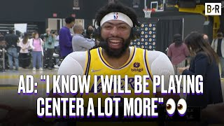 Anthony Davis Is Preparing To Play Center More For Lakers This Season   Media Day 2021-22