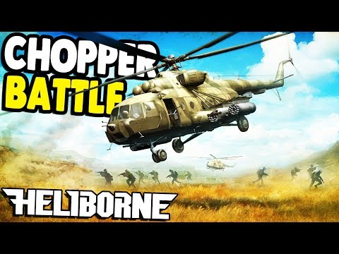 Epic Heli Battles & Vietnam GUNSHIPS | Heliborne Gameplay