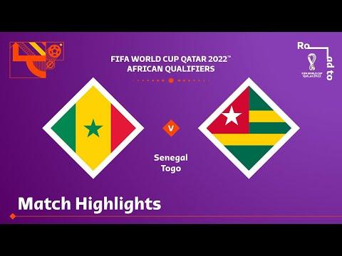 Senegal v Togo   FIFA World Cup Qatar 2022 Qualifier   Match Highlights