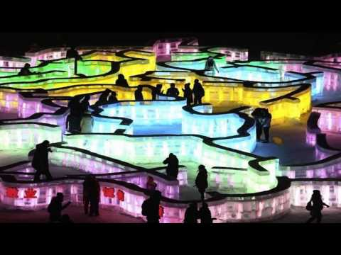 Precioso video del festival de hielo 2015 de Harbin (China)