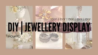 DIY jewelry display with Cray Ray